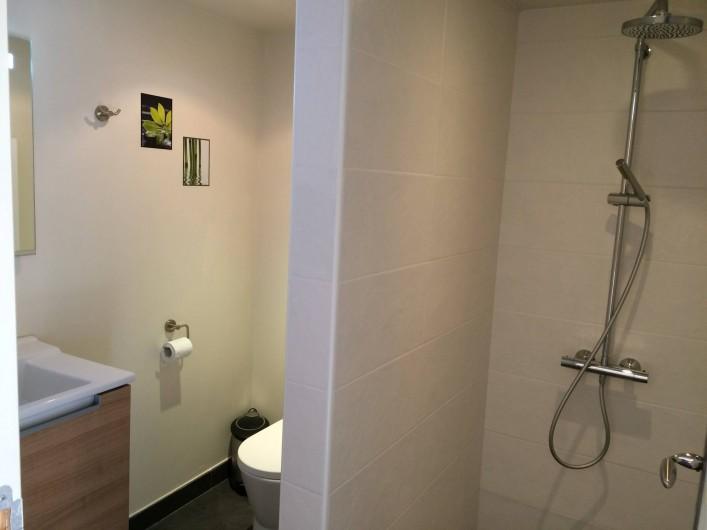 Location de vacances - Gîte à Sergeac - salle d'eaux dépendance