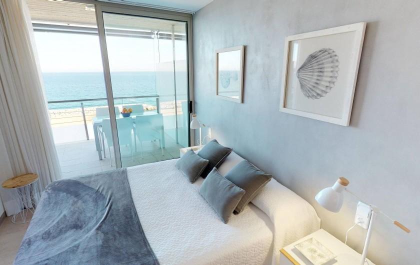 Location de vacances - Appartement à Sant Antoni de Calonge - suite parentale avec terrasse indépendent