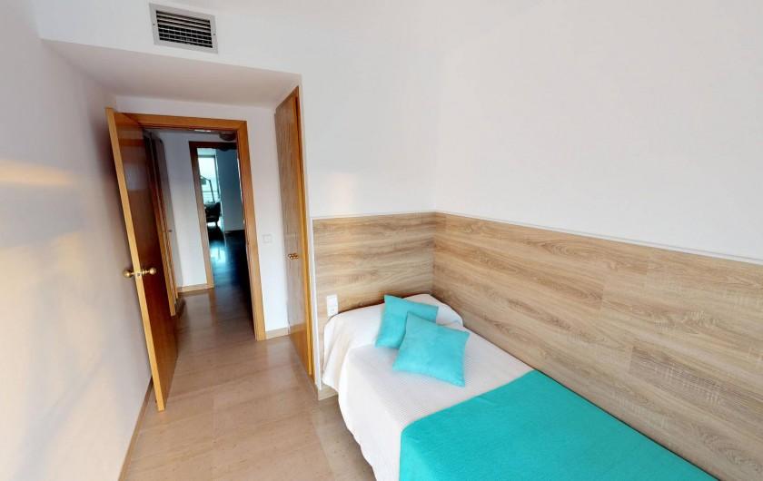Location de vacances - Appartement à Sant Antoni de Calonge - chambre à coucher individuelle