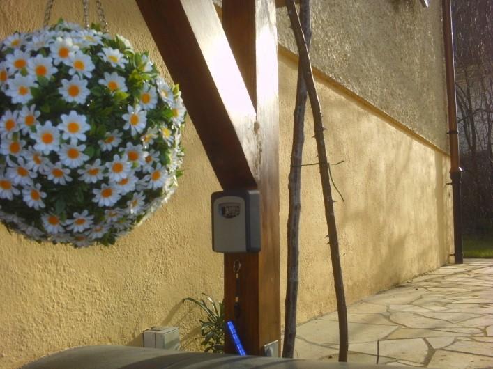 Location de vacances - Appartement à Colmar - Entrée autonome  avec boite à clés sécurisé
