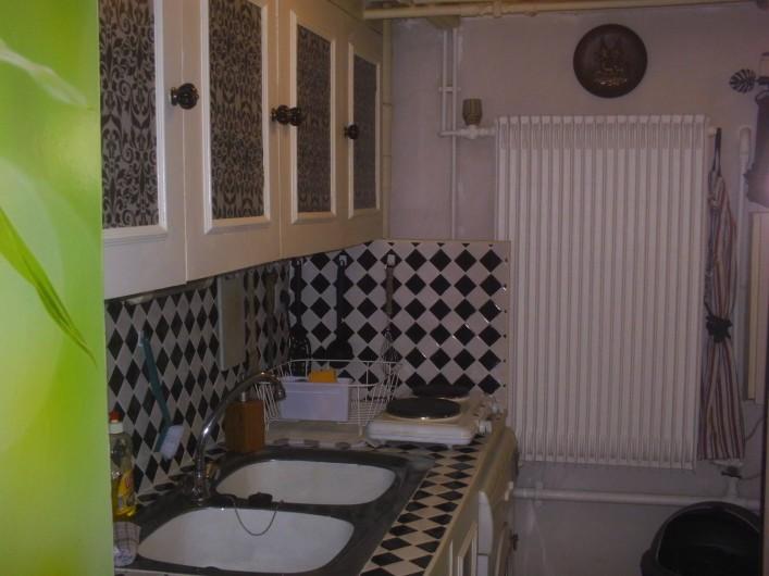 Location de vacances - Appartement à Colmar - Nouvelle cuisine nouveau design