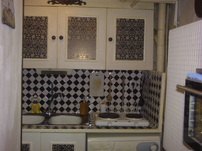 Location de vacances - Appartement à Colmar - cuisine moderne ou vous pourrez faire mijoter vos petits plats