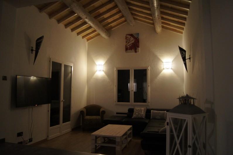 Location de vacances - Villa à Vauvert - Le salon