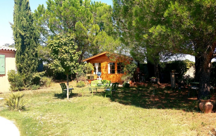 Location de vacances - Villa à Vauvert - Le petit chalet
