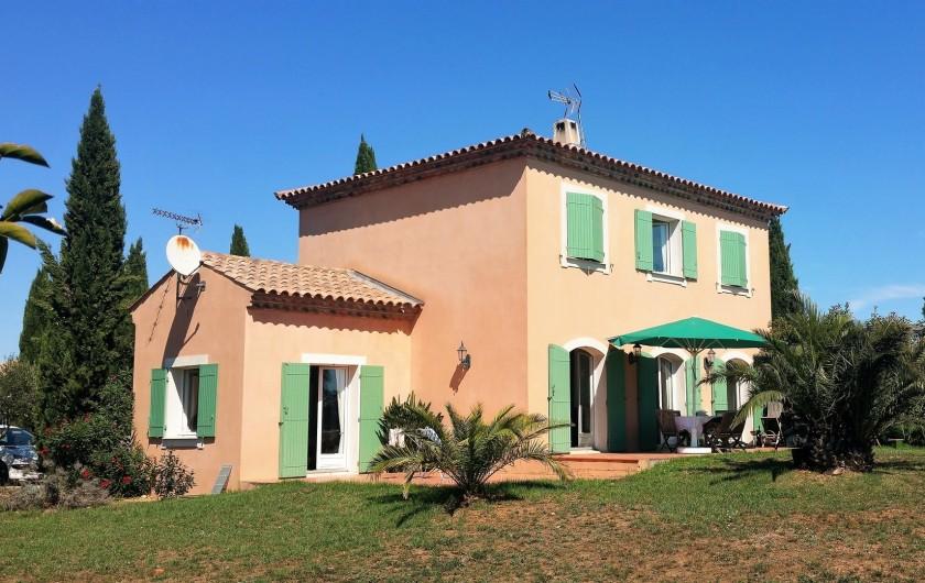 Location de vacances - Villa à Vauvert - La façade arrière