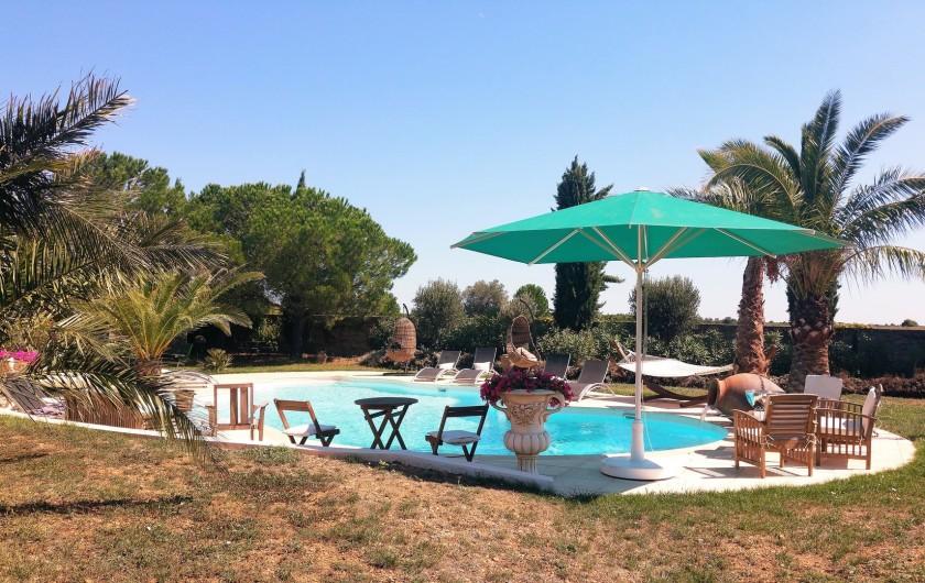Location de vacances - Villa à Vauvert - La piscine