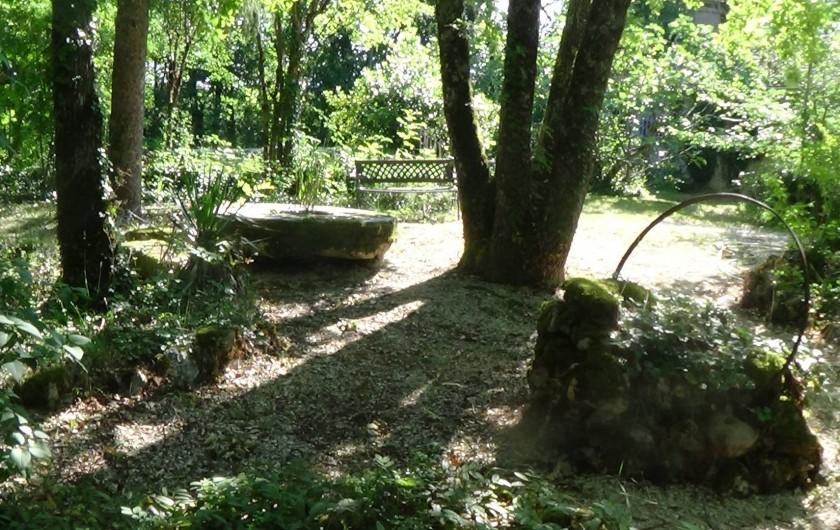 Location de vacances - Chambre d'hôtes à Cremps - coté parc