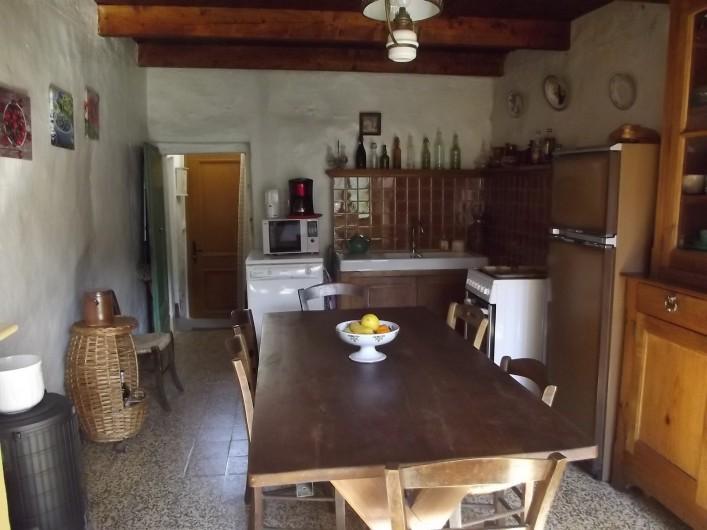 Location de vacances - Gîte à Aumessas - La cuisine