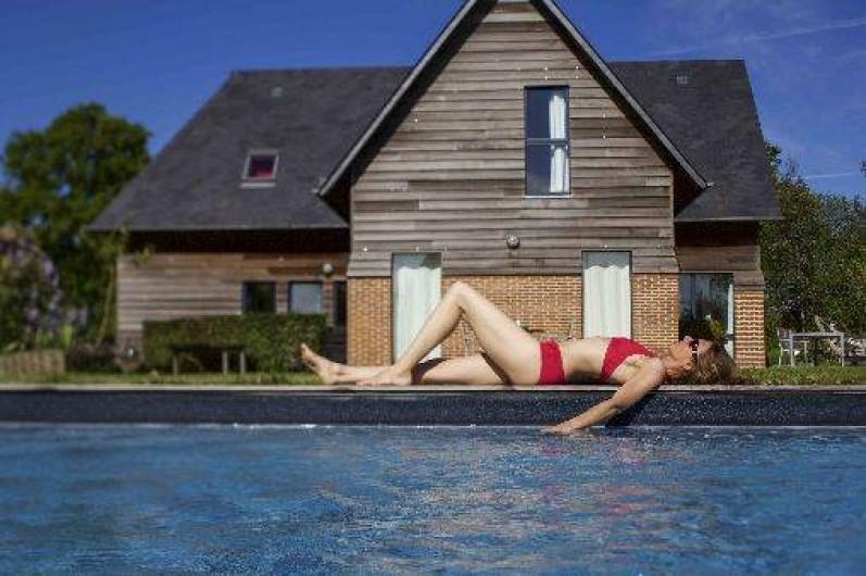 Chambre d 39 h tes avec piscine chauff e et parc de 2 - Chambre dhote luxe normandie piscine ...