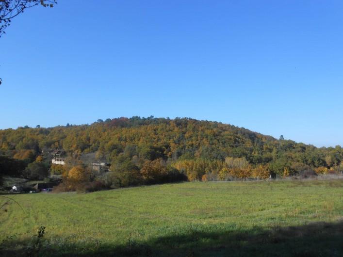 Location de vacances - Bungalow - Mobilhome à Le Buisson-de-Cadouin - Un autre paysage de notre entrée