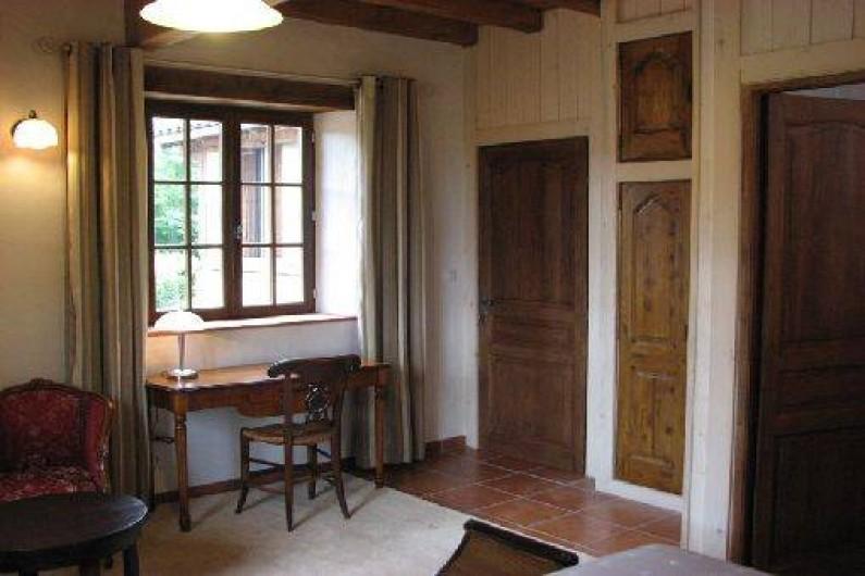 Location de vacances - Chambre d'hôtes à Saint-Pierre de Caubel - La chambre Colombine