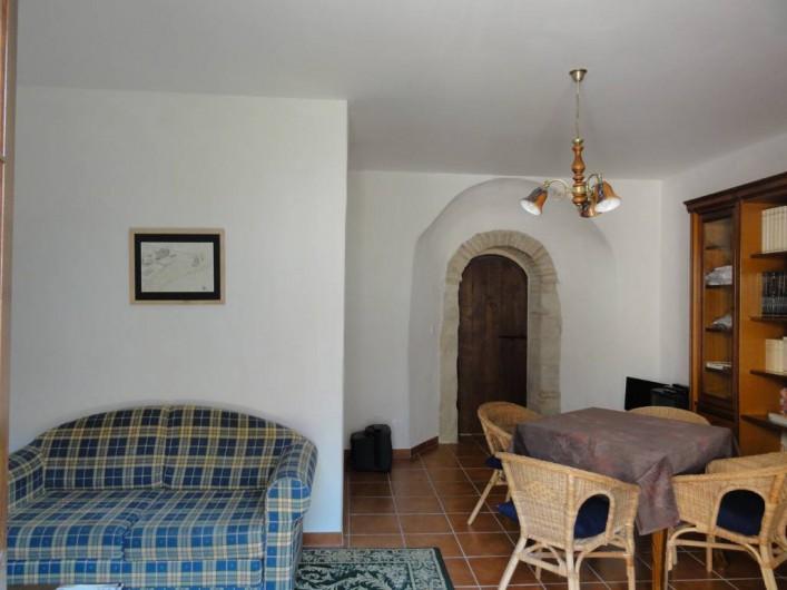 Location de vacances - Chambre d'hôtes à Saint-Pierre de Caubel - Salon-Bibliothèque