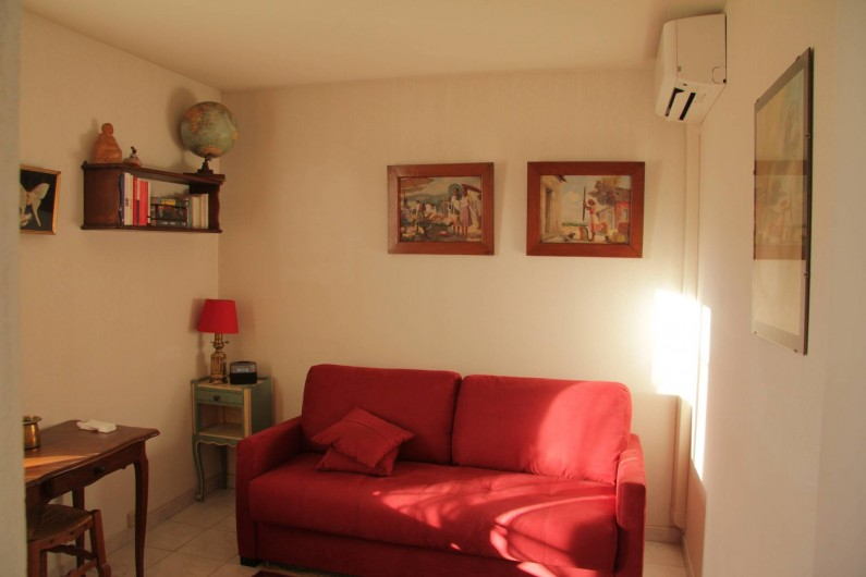 Location de vacances - Appartement à Cagnes-sur-Mer - 2e Chambre