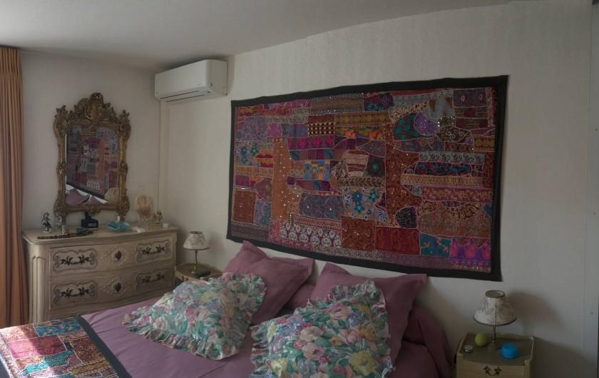 Location de vacances - Appartement à Cagnes-sur-Mer - Chambre