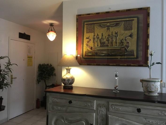 Location de vacances - Appartement à Cagnes-sur-Mer - Dans le Salon