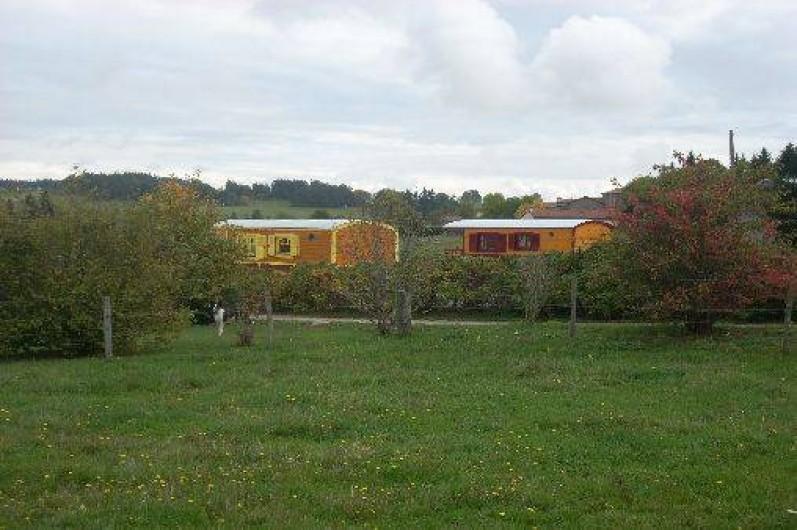 Location de vacances - Roulotte à Chomelix