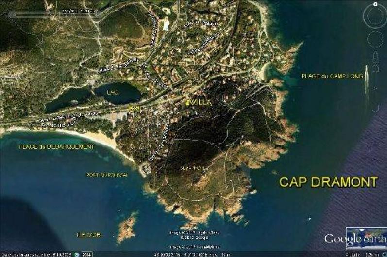 Location de vacances - Villa à Agay - cap dramont