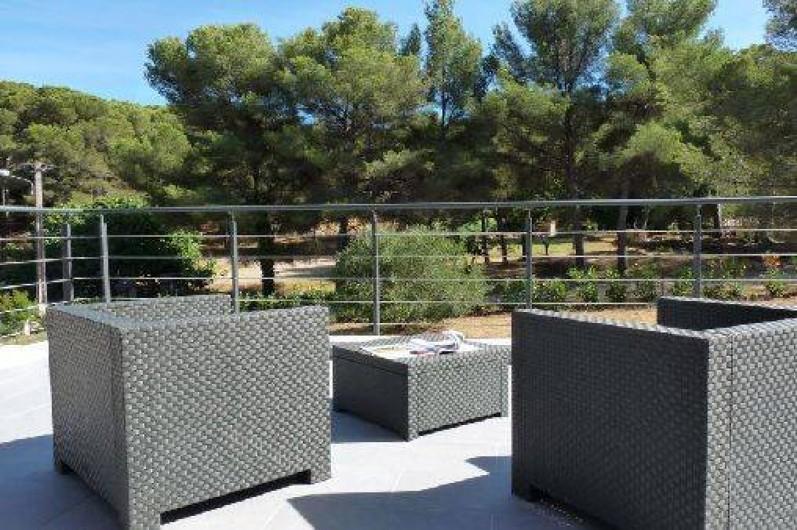 Location de vacances - Villa à Agay - terrasse étage