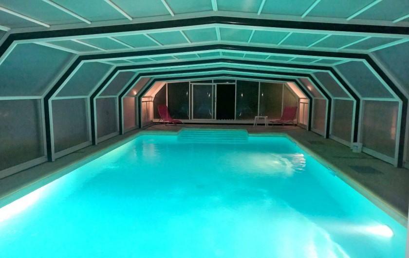 Location de vacances - Villa à Marquay - PISCINE DE NUIT