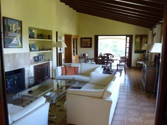 Location de vacances - Villa à Xàbia - SALON / SALLE A MANGER
