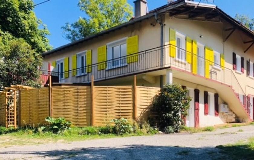 Location de vacances - Appartement à Chauvet - Corps de ferme