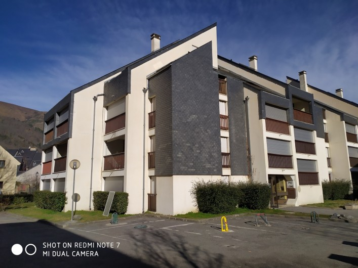 Location de vacances - Studio à Saint-Lary-Soulan - résidence Aurette, studio au 1er étage, exposé Sud