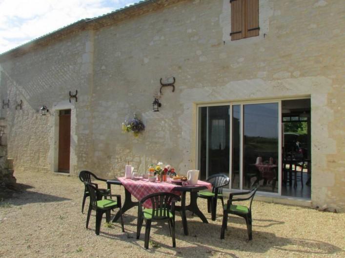 Location de vacances - Villa à Riocaud - Coin détente