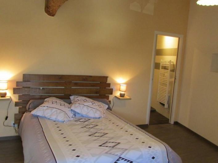 Location de vacances - Villa à Riocaud - Petite suite et sa salle d'eau