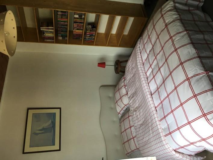 Location de vacances - Appartement à Barbâtre - Chambre sur jardin