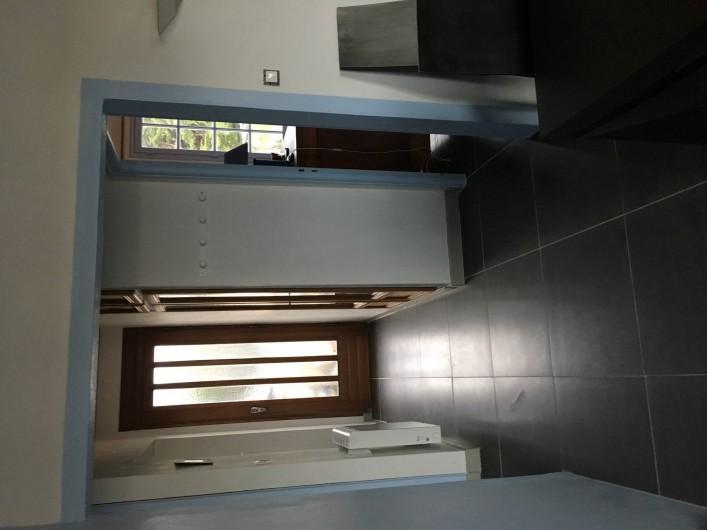 Location de vacances - Appartement à Barbâtre - Entrée vue du séjour