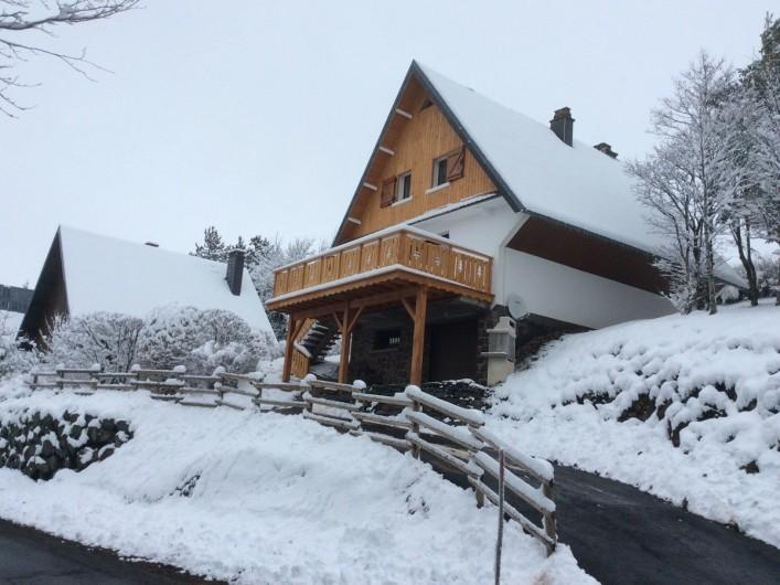 Location de vacances - Chalet à Besse-et-Saint-Anastaise