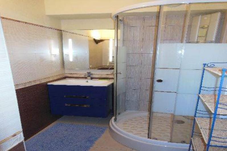 Location de vacances - Appartement à Bidart - Salle de bain