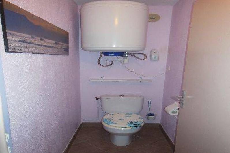 Location de vacances - Appartement à Bidart - W.C.