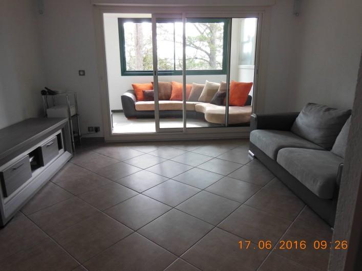 Location de vacances - Appartement à Bidart - Salon / Salle à manger