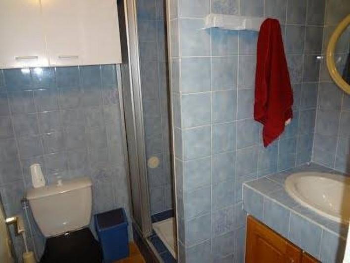 Location de vacances - Maison - Villa à Moustoir-Ac - Salle de douche