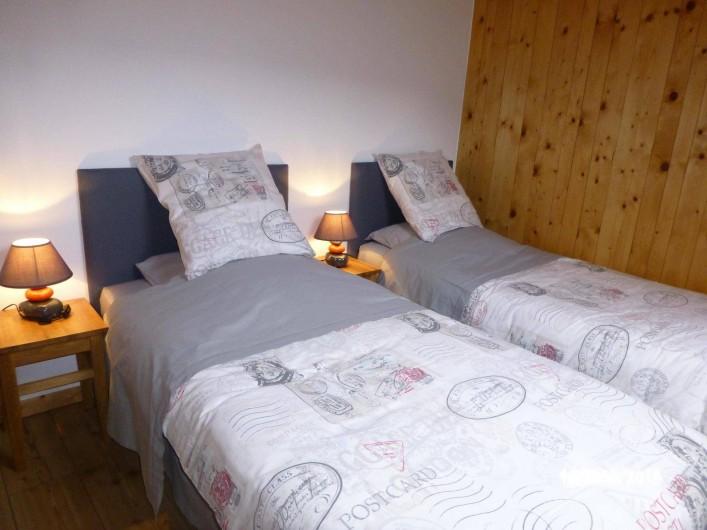 Location de vacances - Gîte à Les Fins - petite chambre ou avec un lit de 170/190