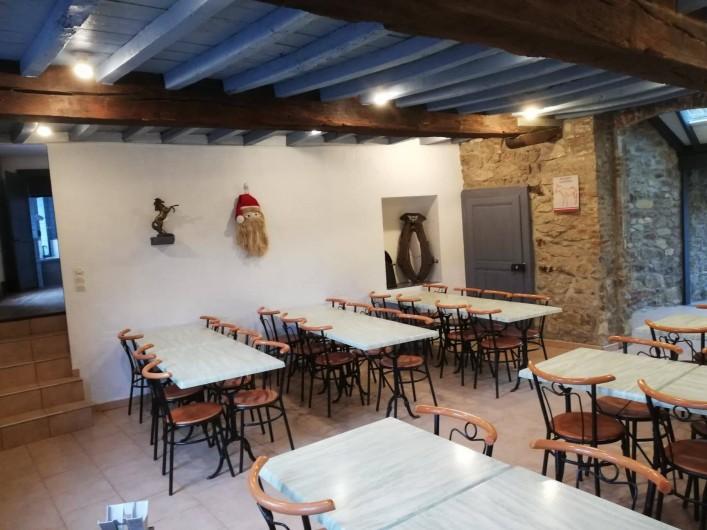 Location de vacances - Gîte à Anor - La salle 40 personnes