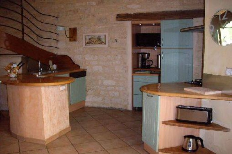 Location de vacances - Villa à Montdoumerc - Cuisine ouverte sur séjour de 70 m2