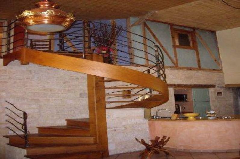 Location de vacances - Villa à Montdoumerc - Accès à l'étage