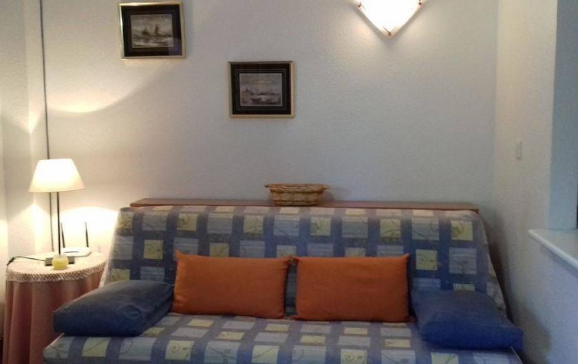 Location de vacances - Appartement à Puerto de Mazarrón - canapé lit neuf