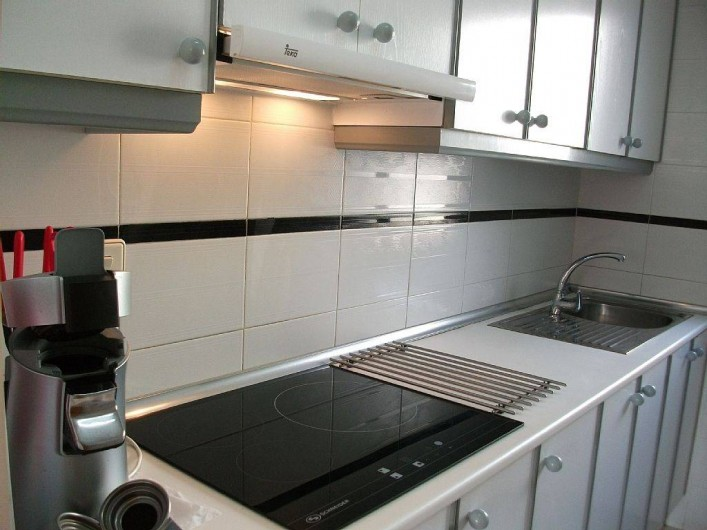 Location de vacances - Appartement à Puerto de Mazarrón - cuisine toute équipé