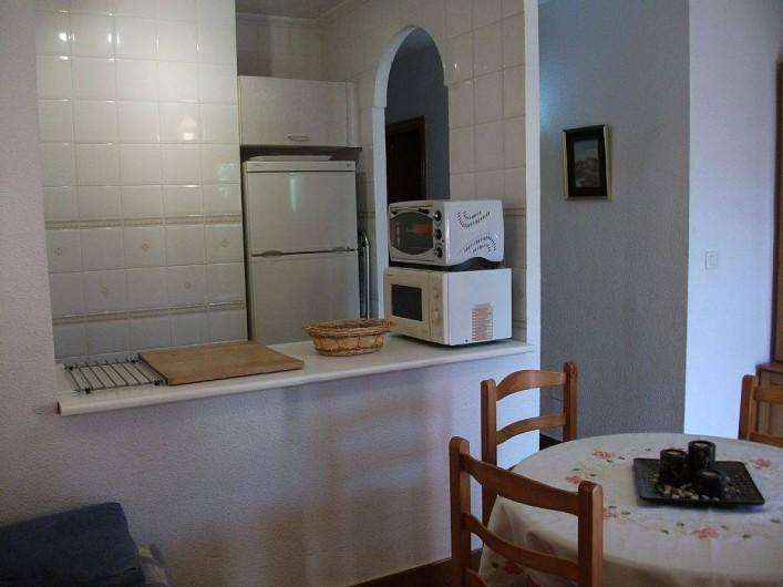 Location de vacances - Appartement à Puerto de Mazarrón - cuisine toute aménager