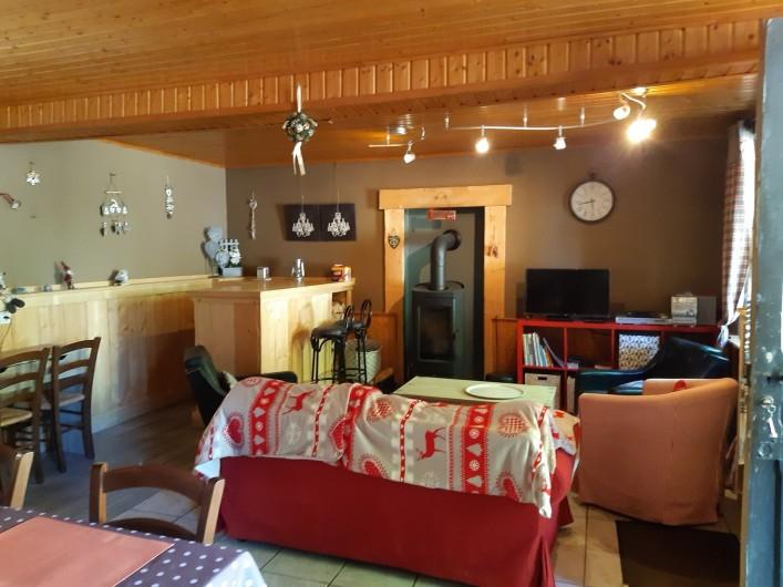 Location de vacances - Villa à Le Mont-Dore - salon