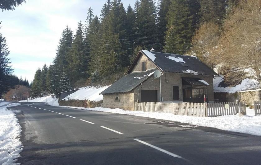 Location de vacances - Villa à Le Mont-Dore - gîte du Guéry