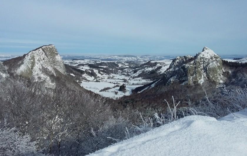 Location de vacances - Villa à Le Mont-Dore - les roches tuiliéres et sanadoire juste à coté