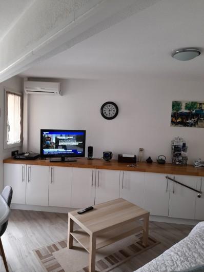 Location de vacances - Appartement à Sète - Salon