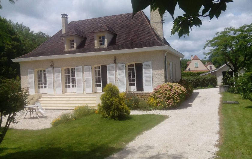 Location de vacances - Villa à Saint-Julien-de-Lampon