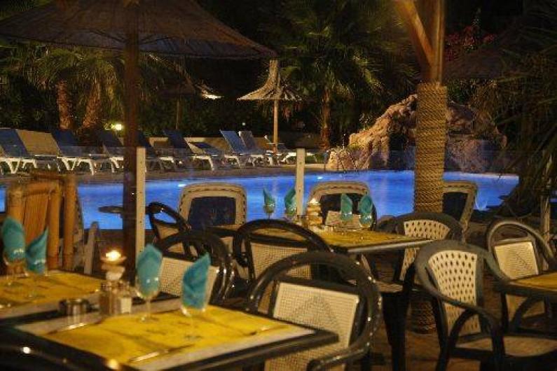 Location de vacances - Bungalow - Mobilhome à Sainte-Lucie de Porto-Vecchio - restaurant