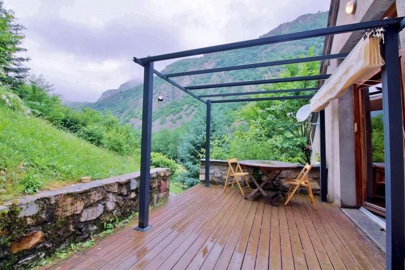 Location de vacances - Gîte à Gavarnie-Gèdre - Terrasse