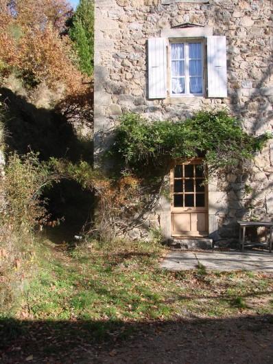 Location de vacances - Gîte à Vernoux-en-Vivarais - Le gîte du moulinage (4personnes)